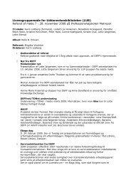 Referat af møde 7 - DEFF