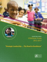 Download the plan - Atlanta Public Schools