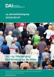 23. Februar 2013 Bad homburg vor der höhe - Deutsches ...
