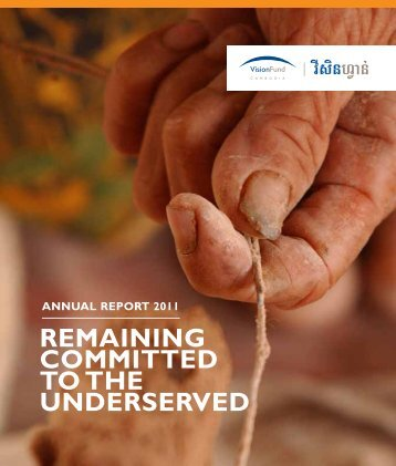 REMAINING COMMITTED TO THE UNDERSERVED - Banking with ...