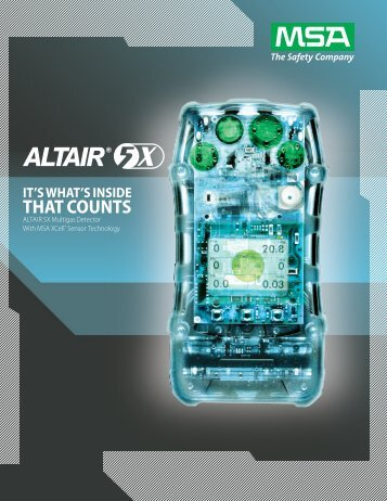 ALTAIR 5X Multigas Detector - 5 Alarm Fire and Safety Equipment