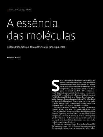 a essência das moléculas - Revista Pesquisa FAPESP