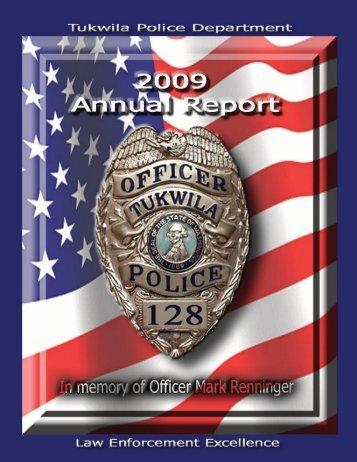 2009 Annual Report - the City of Tukwila