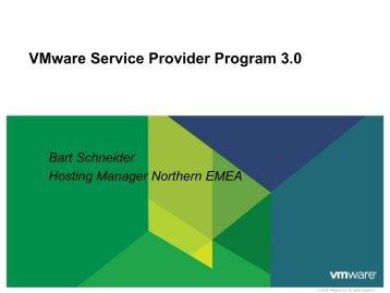 VMware Service Provider Program 3.0 - Insight