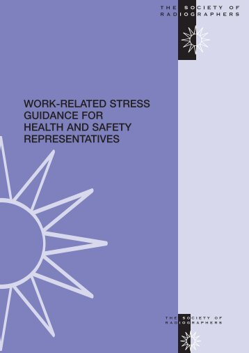 work-related stress guidance for health and safety representatives