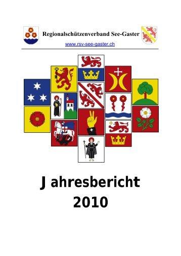 Jahresbericht 2010 - RSV See-Gaster