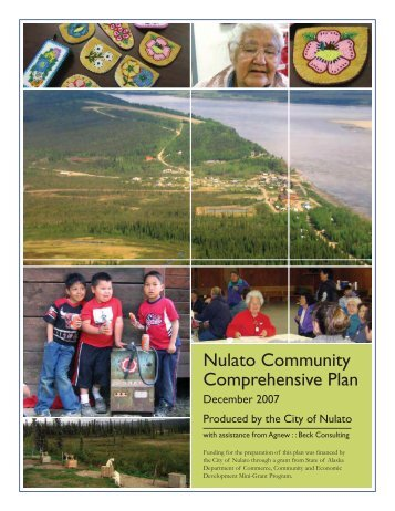 Nulato Community Comprehensive Plan - Agnew::Beck Consulting