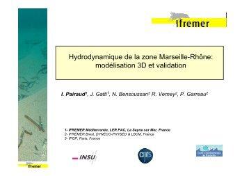 Hydrodynamique de la zone Marseille-Rhône ... - Ifremer