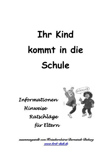 Elternbroschüre - Kreiselternbeirat Darmstadt Dieburg
