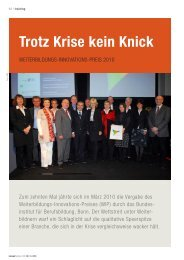 Trotz Krise kein Knick - Institute for Social Banking