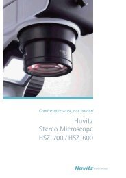 Huvitz Stereo Microscope - Hanyko Praha