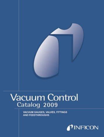 Vacuum Control Catalog 2009