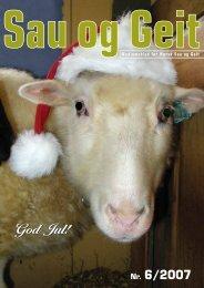 God Jul! - Norsk Sau og Geit