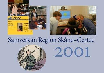 Samverkan Region Skåne–Certec - Certec - Lunds Tekniska Högskola