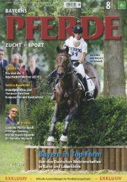 Bayerns Pferde 08/2011 - Hofgut Allerer