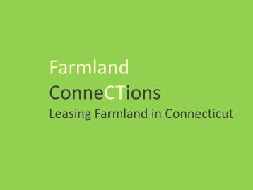 Getting on the Land - American Farmland Trust
