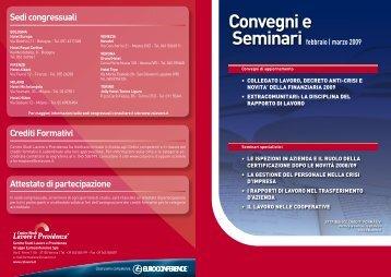 Scarica la Brochure completa - Centro Studi Lavoro e Previdenza