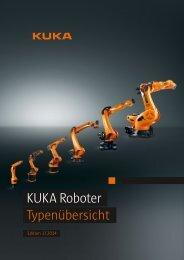 KUKA Roboter Typenübersicht - KUKA Robotics