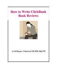 How to Write ClickBank Book Reviews - toppco.com