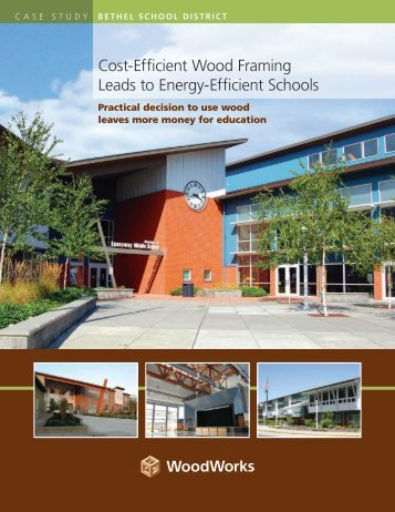 Cost-Efficient Wood Framing Leads to Energy-Efficient ... - WoodWorks