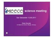 science meeting - meece