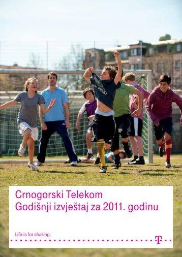 Crnogorski Telekom Godišnji izvještaj za 2011. godinu