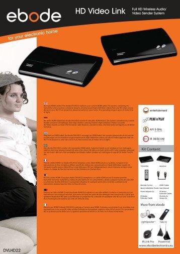 HD Video Link - BMB Electronics