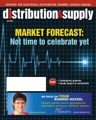MARKET FORECAST: - Electrical Business Magazine
