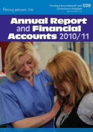 Annual Report and Financial Accounts 2010/11 - Royal ...