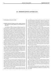 II. DISPOSICIONES GENERALES