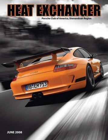 JUNE 2008 - Shenandoah Region Porsche Club of America