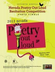 S T A T E F I N A L S - Nevada Arts Council