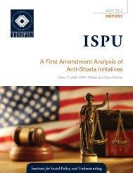 A First Amendment Analysis of Anti-Sharia Initiatives - Institute for ...