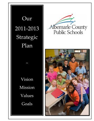 The Strategic Plan - Albemarle County Public Schools