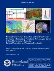 National Infrastructure Simulation and Analysis ... - Mason County