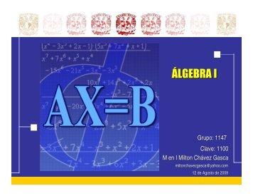 (Microsoft PowerPoint - Introducción al álgebra)