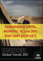 Global Trends 2011 - unhcr