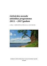 1.daļa – Pašreizējās situācijas un SVID analīze - Rīgas Plānošanas ...