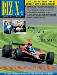 your only international border city publication! - Biz X Magazine