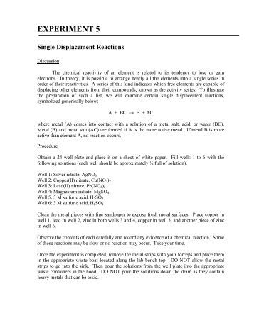 Double Replacement Reaction Worksheet 5: Worksheet 5 Double Replacement Reactions Worksheets For School    ,