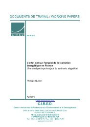 DT/WP No 2013-46 - Centre International de Recherche sur l ...