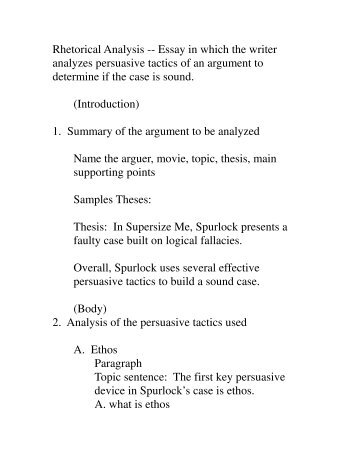 rhetorical analysis sample essay muecke rhetorical analysis notes wps