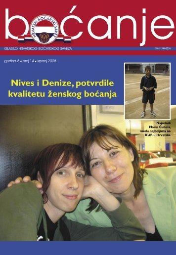 glasilo 14 - Hrvatski boćarski savez