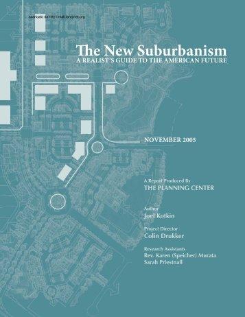 The New Suburbanism - Mall