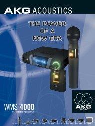 WMS 4000 Brochure - Full Compass