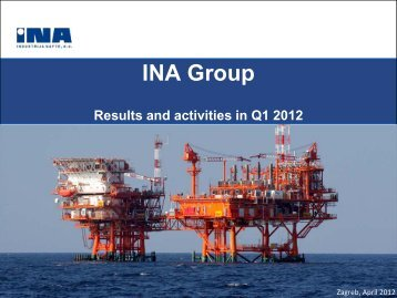 Results and activities in Q1 2012 - Ina