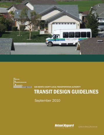 Read the Final Transit Design Guidelines (pdf 2.5 mb) - San Benito ...