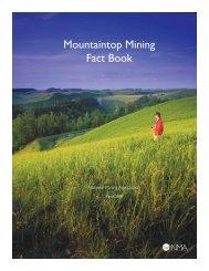 Mountaintop Mining Fact Book - National Mining Association