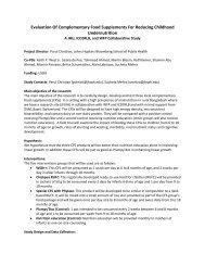 JHU- ICDDR-B- WFP.pdf - The iLiNS Project