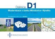 Dálnice D1 - Ředitelství silnic a dálnic